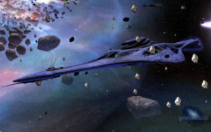 New Wraith Destroyer - Ingame by SGMG-Klon