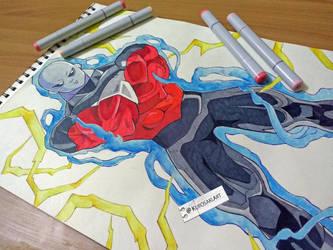 Jiren The Gray   Dragon Ball Super by kurosaki720