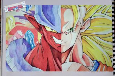 Goku Vs Janemba   Dragon Ball Z - Fusion Reborn by kurosaki720
