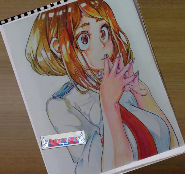 Ochaco Uraraka   Boku No Hero Academia by kurosaki720