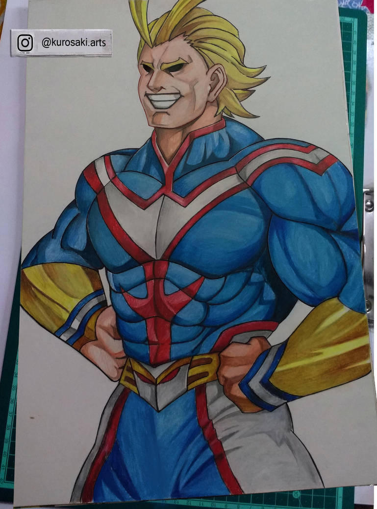 All Might -- My Hero Academia by kurosaki720