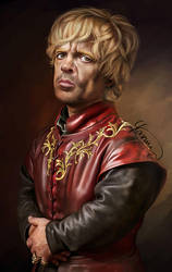 Tyrion Lannister by Yasmine-Arts