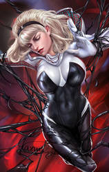 Spidergwen by Yasmine-Arts