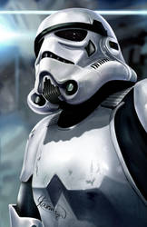 Stormtrooper by Yasmine-Arts