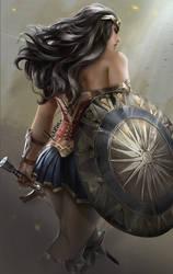 Wonderwoman by Yasmine-Arts
