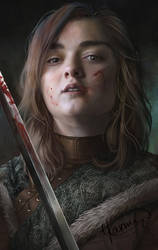 Arya Stark by Yasmine-Arts