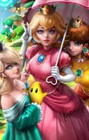Mario's Ladies by Yasmine-Arts