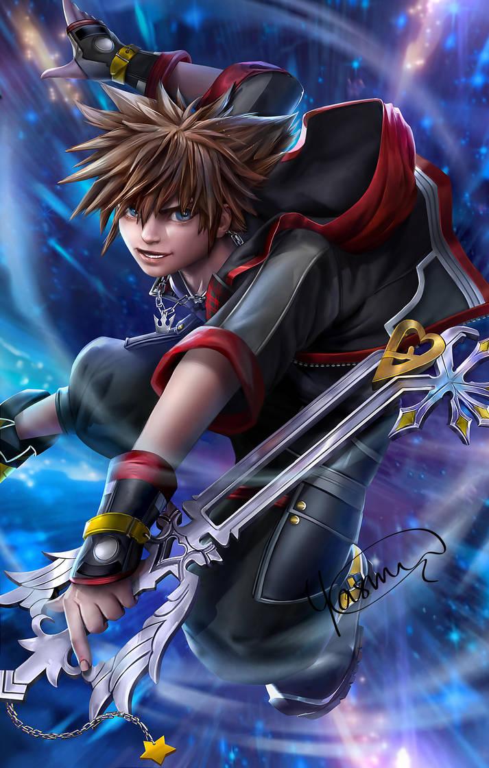 The Keyblade Master by Yasmine-Arts