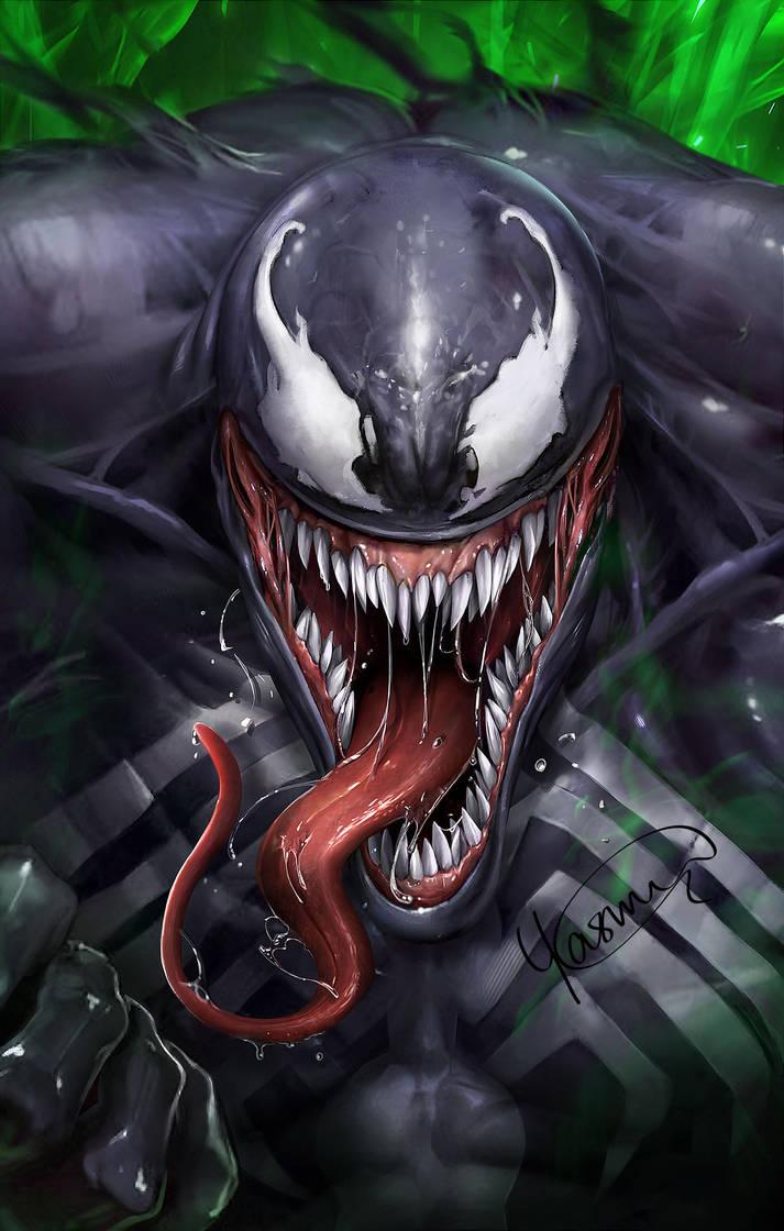 Venom by Yasmine-Arts
