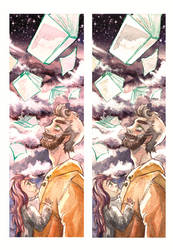 bookmark rainy day by Orlinee
