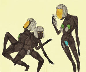 black widow by MisterISK