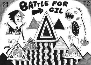 battle by MisterISK