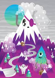 purple mountain by MisterISK