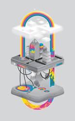 Reading rainbow:v5 by MisterISK