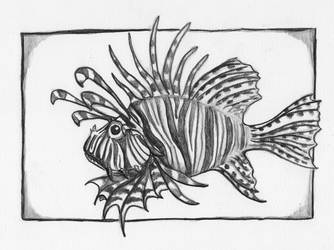 Lionfish by DonyaQuick
