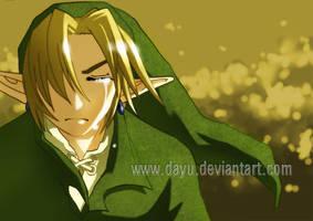 Zelda: Link, a Tired Hero by Dayu
