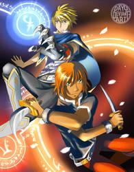Battle - Phoenix Ash by Dayu