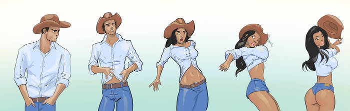 Cowboy Tg by Plumbeo