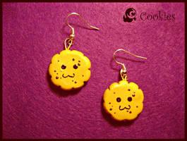 Cookies earrings. by Croppka