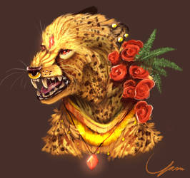 Cheetah Queen by Ryarie