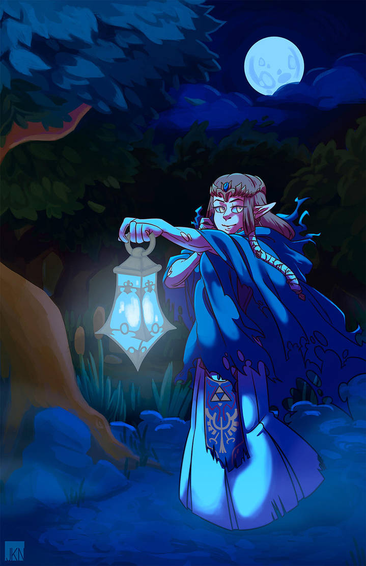 Ghostly Princess by VeloursRose