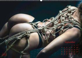Beauty of Rope IV, Fine Art of Bondage - Calendar by Model-Space