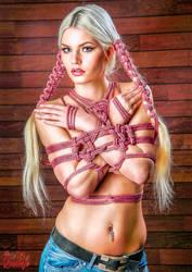 Beauty of Rope V, Fine Art of Bondage - Calendar by Model-Space