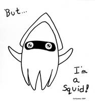 Blooper Im a Squid NES by Kattscomics