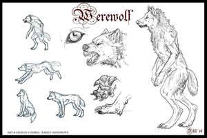 Werewolf by Yellow-eyes