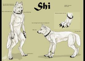 Shiwolf-refsheet by Yellow-eyes