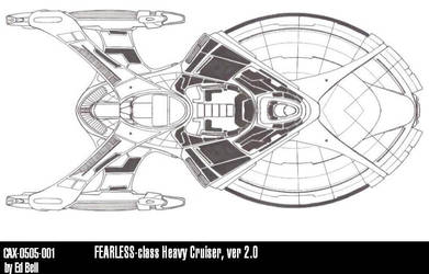 Ships of ASR-UFP-FEARLESS by GhostRider2007