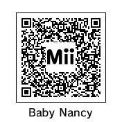 QR Code: Baby Nancy by DarkSonic95