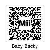 QR Code: Baby Becky by DarkSonic95