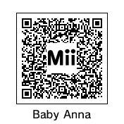 QR Code: Baby Anna by DarkSonic95
