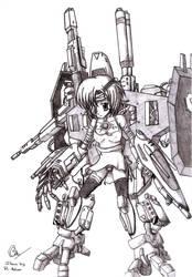 Yukiko the Living Weapon by RenaissanceOfChaos