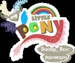 Fanart - MLP. My Little Pony Logo - Discord by jamescorck