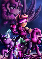 Fanart - MLP. Spike Unicorn by jamescorck
