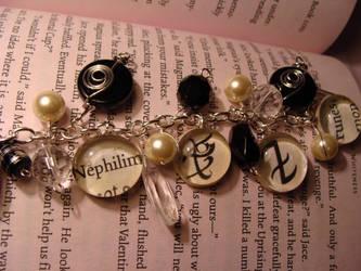 Nephilim Charm Bracelet by bitemekthx