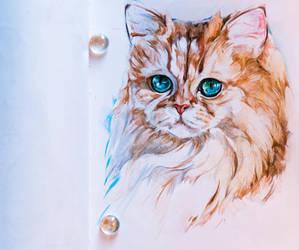 Kitty by LomovtsevaOlga