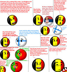 CountryRound: Belgium Story by nanabusia63