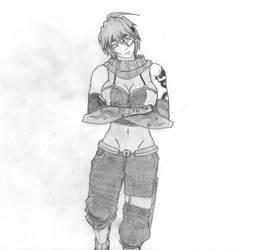 Mizuki -FAN ART- by HeartlessGUYnumber17