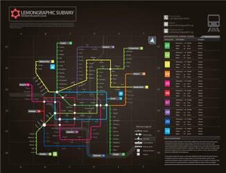 Subway infographic design Full by Lemongraphic