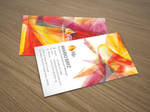 Citrus paragon business card by Lemongraphic
