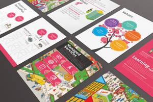 Recruitplus Corporate Profile Brochure Design by Lemongraphic