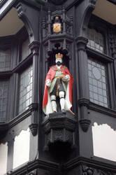Chester building art by sicklittlemonkey