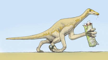 Deinocheirus mirificus by GaffaMondo