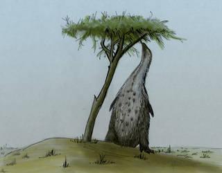 #BuildABetterFakeTheropod - Giant Penguin by GaffaMondo
