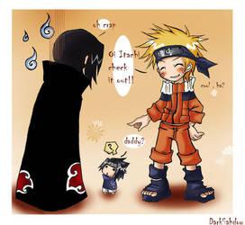 OMG what happen to sasuke? by DarkSahdow