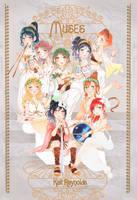 LOVE LIVE! Muses ARTBOOK by kaitquefait