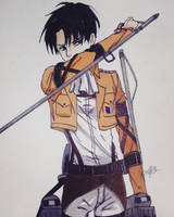 Levi  by MeowImAvery